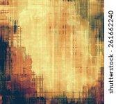 art grunge vintage textured... | Shutterstock . vector #261662240