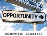 Opportunity Direction Sign On...