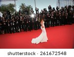 cannes  france   may 17  eva... | Shutterstock . vector #261672548