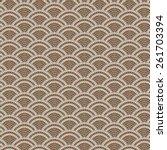 vector seamless  background... | Shutterstock .eps vector #261703394