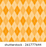 seamless summer argyle pattern... | Shutterstock .eps vector #261777644