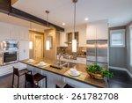 Modern  Bright  Clean  Kitchen...