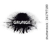 grunge urban background.texture ... | Shutterstock .eps vector #261797180