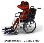 fun frog | Shutterstock . vector #261821789