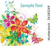 spring background | Shutterstock .eps vector #26183269