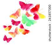 amazing background with...   Shutterstock . vector #261857300