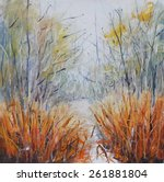 Original Abstract Oil Painting...