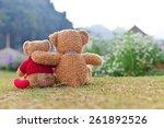 Teddy Bears Sitting On The...