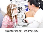 beautiful young doctor inspect... | Shutterstock . vector #26190805