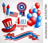 independence day holiday... | Shutterstock .eps vector #261923780