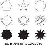 geometric design | Shutterstock .eps vector #261928850