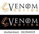 venom brand concept | Shutterstock .eps vector #261964019