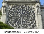 The Rose Window At The Notre...