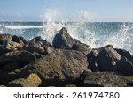 The Coast Of Atlantic Ocean ...