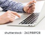 bank  banking  bill. | Shutterstock . vector #261988928