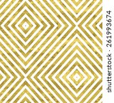 white and gold  pattern.... | Shutterstock .eps vector #261993674