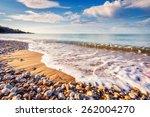 fantastic view azure sea...