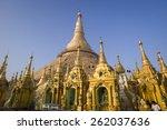 yangon  myanmar   feb 27 ... | Shutterstock . vector #262037636