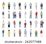 diversity ethnicity multi... | Shutterstock . vector #262077488