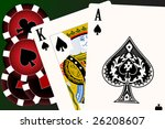 set of playing cards. to see... | Shutterstock .eps vector #26208607