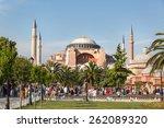 hagia sophia   istanbul   13 06 ...   Shutterstock . vector #262089320