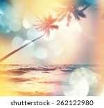 Stock photo serenity tropical beach 262122980