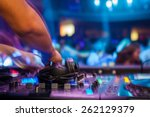 Stock photo club dj 262129379