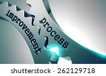 process improvement  on the... | Shutterstock . vector #262129718