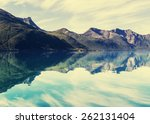 northern norway landscapes | Shutterstock . vector #262131404