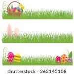 stock illustration set of... | Shutterstock . vector #262145108