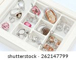jewelry box | Shutterstock . vector #262147799