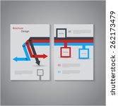 creative brochure   flyer... | Shutterstock .eps vector #262173479