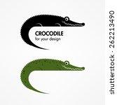 crocodile icon | Shutterstock .eps vector #262213490