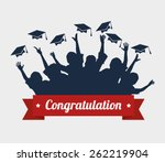 education design over white... | Shutterstock .eps vector #262219904
