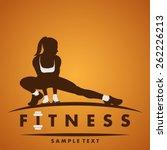 fitness logo | Shutterstock .eps vector #262226213