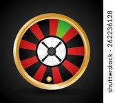 casino design over black... | Shutterstock .eps vector #262236128