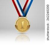 medal winner. vector | Shutterstock .eps vector #262260200