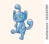 bizarre monster theme elements   Shutterstock . vector #262264589