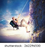 explorer and his passion for... | Shutterstock . vector #262296530