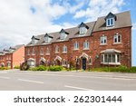 row of terraced houses | Shutterstock . vector #262301444