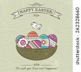 grunge beige background with...   Shutterstock .eps vector #262328660