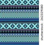 aztec pattern   Shutterstock .eps vector #262329080