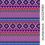 aztec pattern   Shutterstock .eps vector #262329083
