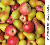 apples and pears | Shutterstock . vector #262342268