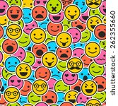 Seamless Pattern With Color...