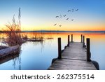 Jetty In Lake