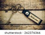 key and label. idea concept | Shutterstock . vector #262376366