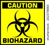 Caution Biohazard Sign