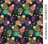 multicolored glitter confetti...   Shutterstock .eps vector #262382270