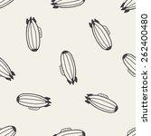 doodle zeppelin seamless... | Shutterstock . vector #262400480